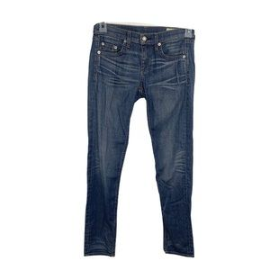 Rag And Bone The Dre Jeans Size 24 Distressed